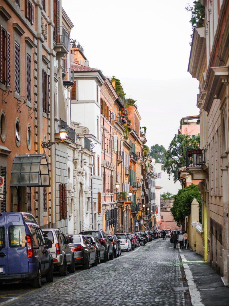 mejor zona para alojarse en roma